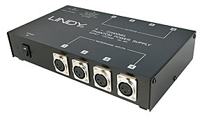Phantomspeisung, 4 Port, 48V Stromversorgung f�r vier Kondensatormikrophone