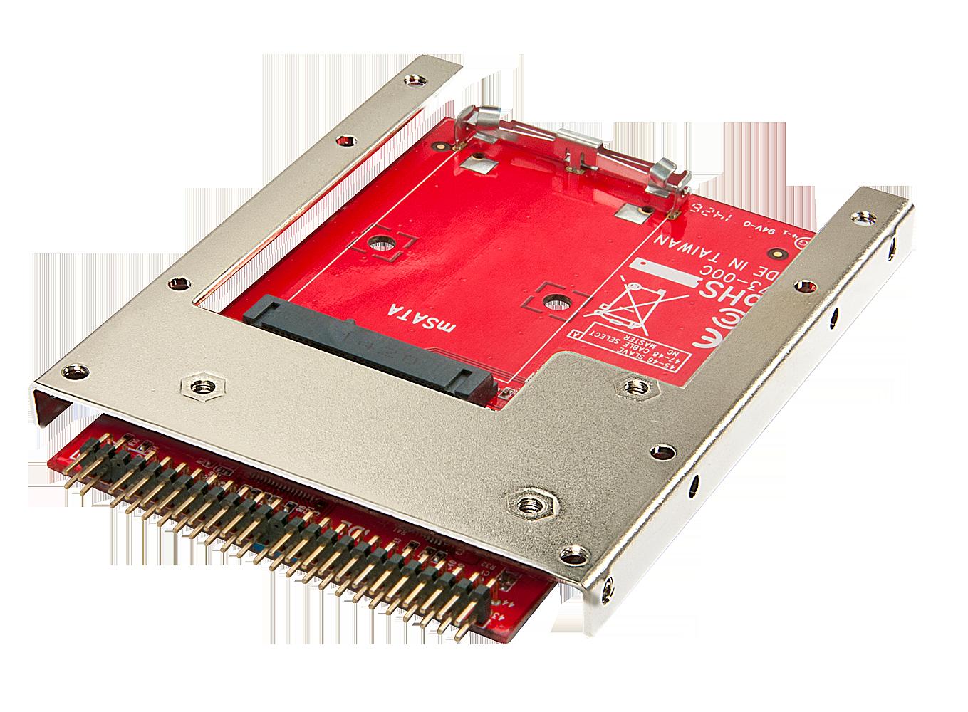 mSATA auf IDE Adapter mit 2,5 Einbaurahmen, 7mm