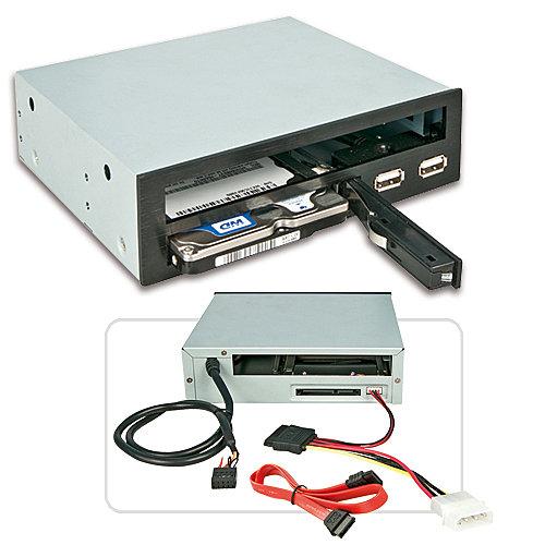 Slim ODD und 2,5 SATA SSD/HDD Mehrzweckmodul für den 5,25-Schacht