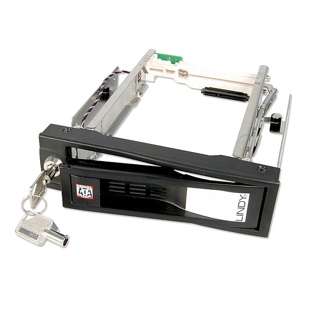 SATA HDD Wechselrahmen PRO f�r 3,5\ HDDs in einem 5,25\ Schacht