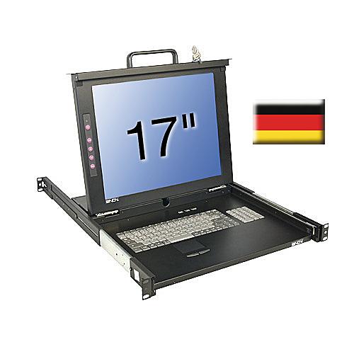 17\/43,2cm LCD KVM Terminal CLASSIC, DE layout