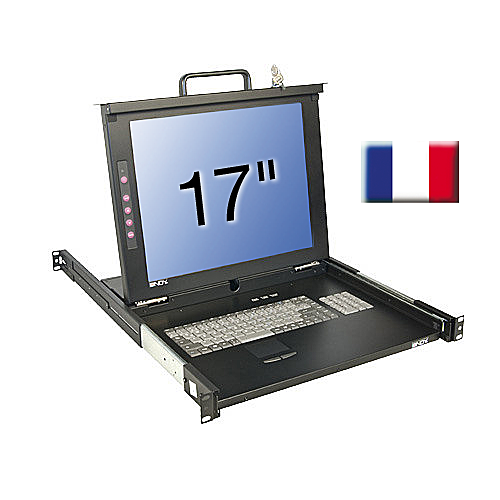 17/43,2cm LCD KVM Terminal CLASSIC, FR layout