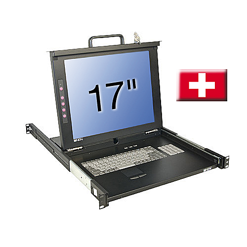 17/43,2cm LCD KVM Terminal CLASSIC, CH Layout
