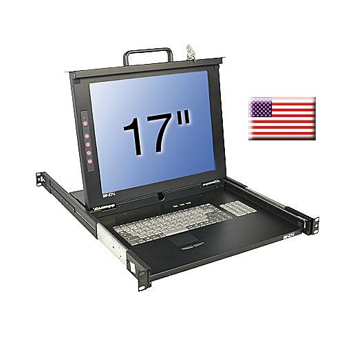 17/43,2cm LCD KVM Terminal CLASSIC, US layout