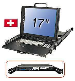 17/43,2cm LCD KVM Terminal PRO, CH layout