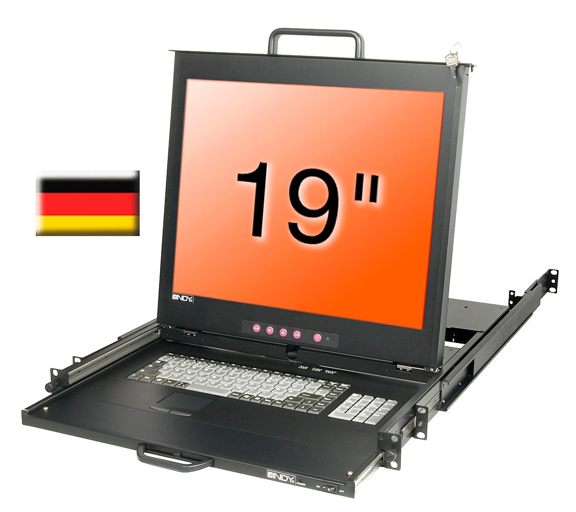 19/48,3cm LCD KVM Terminal PRO, DE layout