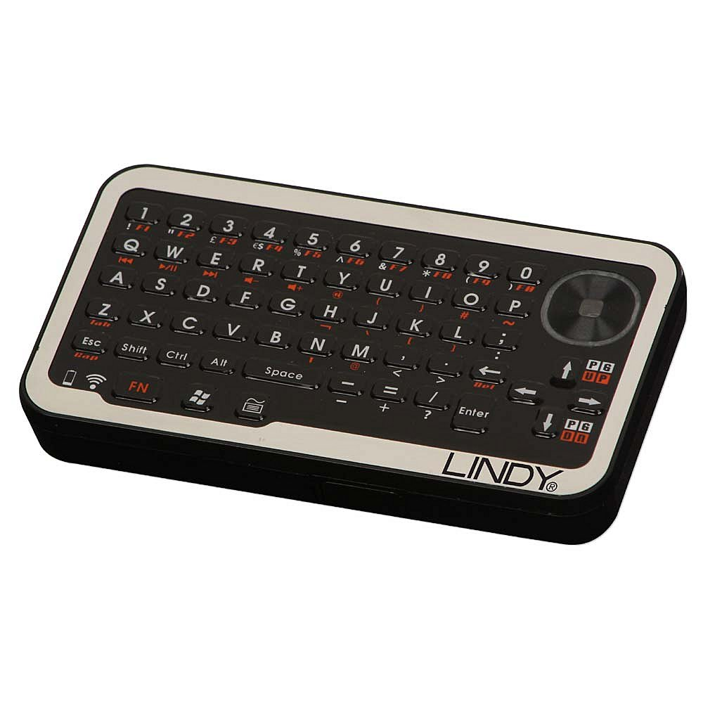 Wireless Micro Keyboard & Optical Touchpad, USB, englisches Layout