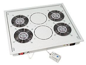19 Belüftungseinheit mit 4 Ventilatoren für LINDY 19 Standschränke und Wandgehäuse