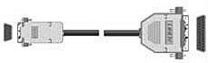 Serielles Druckerkabel RS232 9 polige Kupplung auf 25 poligen Stecker 2m