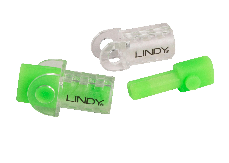 Lightning & USB i-Cable Protektor Leucht-Grün