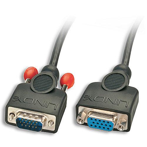 VGA-Verl�ngerung ohne Ferritkerne, 15-pol. HD Stecker/Kupplung 2m