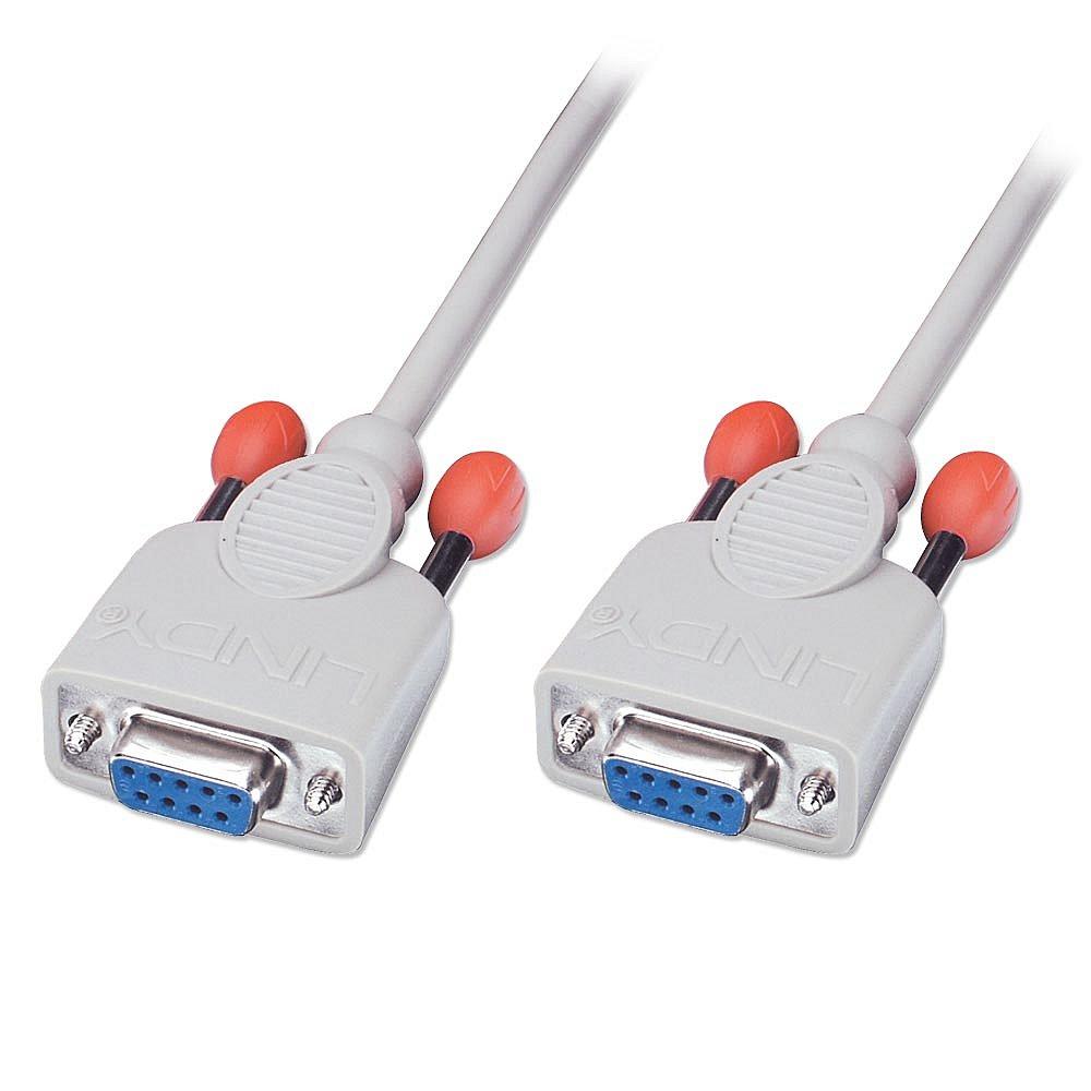 Nullmodem-Kabel 9 pol. Kupplung/Kupplung 2m