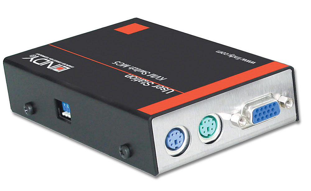 KVM Extender User Station MC5 Junior, PS/2 & VGA