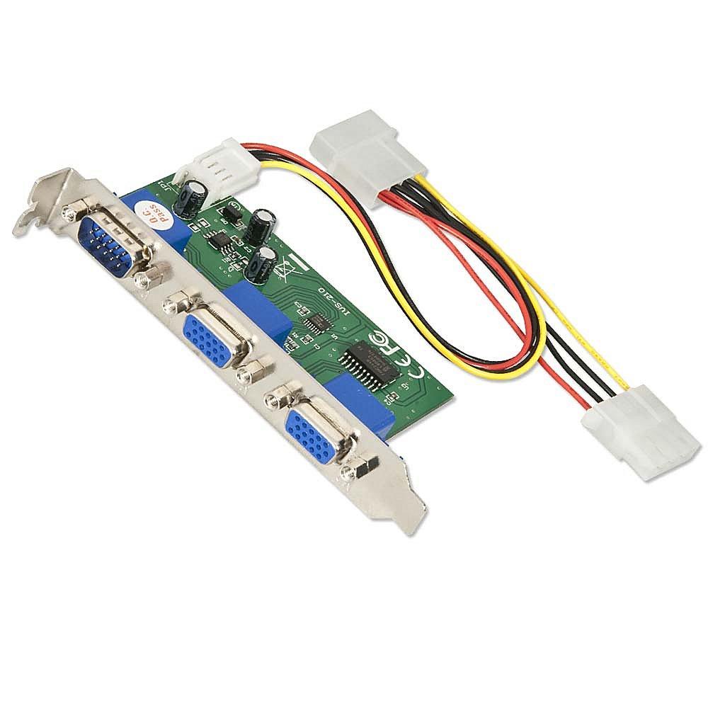 S-VGA Splitter Intern 2 Port