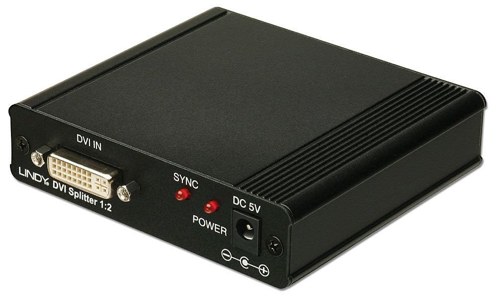 DVI & HDTV Splitter 1:2