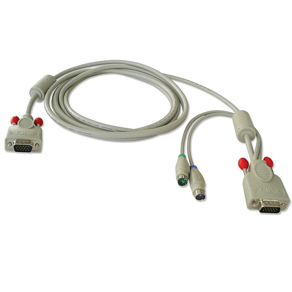 KVM-Systemkabel 5m f�r KVM Switch P16, XT-Modelle und KVM Switches der U-Serie
