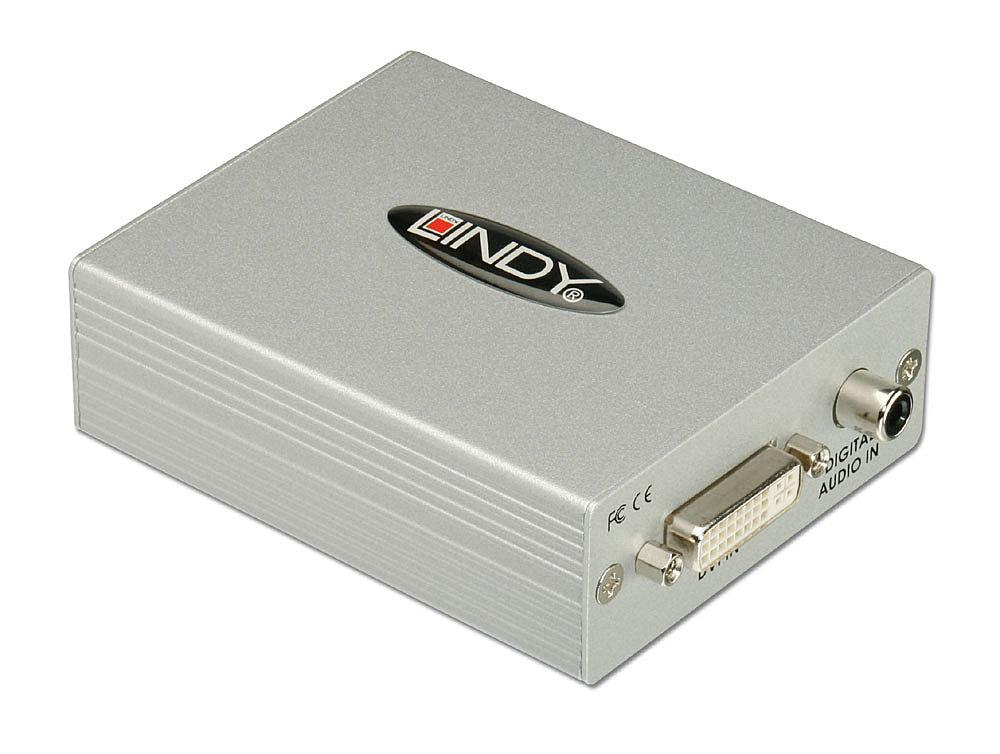DVI-D & SPDIF to HDMI Converter