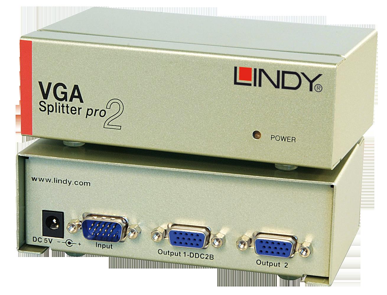 VGA Splitter PRO, 2 Port