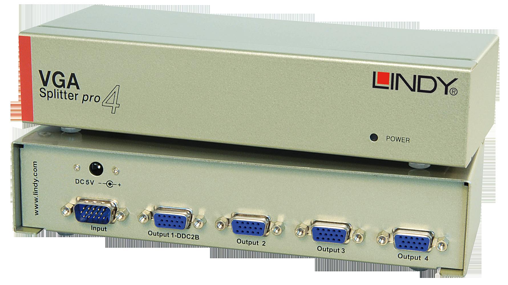 VGA Splitter PRO, 4 Port