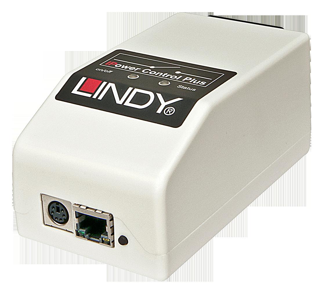 LINDY IPower Control Plus IEC mit Sensoranschluss