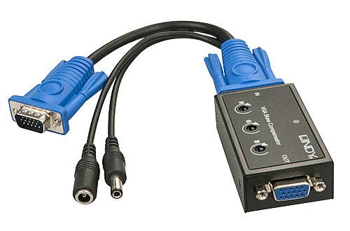 VGA Laufzeitkompensator für Cat.5 VGA-Extenderstrecken