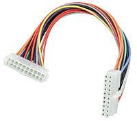 ATX-Mainboard Stromverlängerungskabel (20p), 0,4m