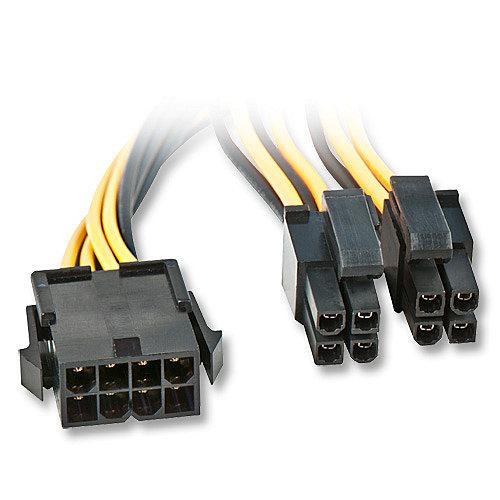 EPS12V / eATX/BTX 12V   8 Pol Mainboard Stromverl�ngerungskabel, ca. 0.4m