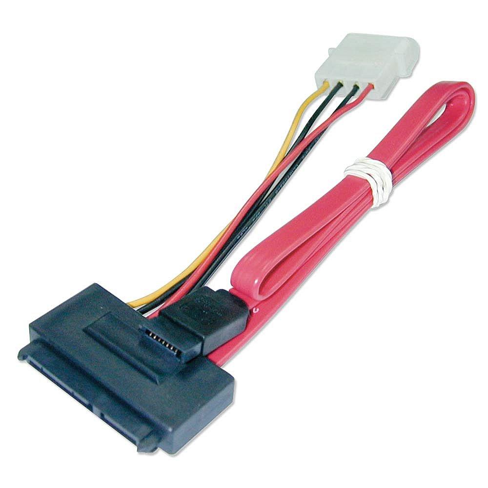 Internes SATA Daten- und Stromkabel Kabel, 0,3m