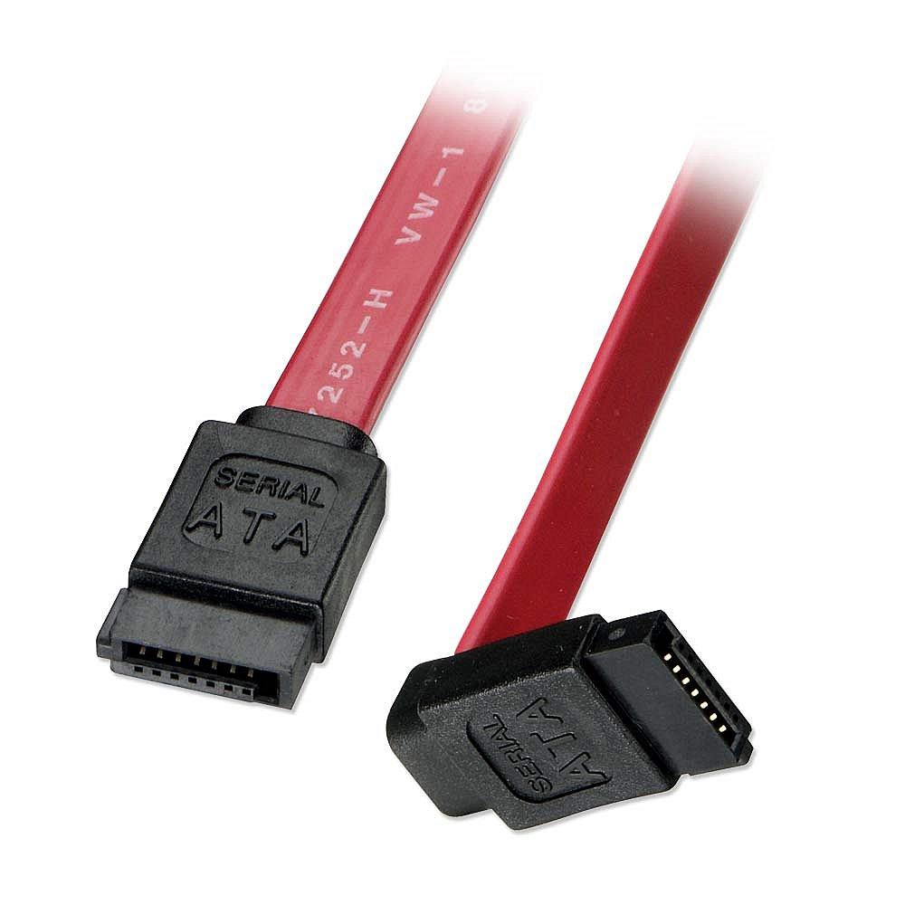 Internes SATA-Kabel mit abgewinkeltem Stecker, 0,2m