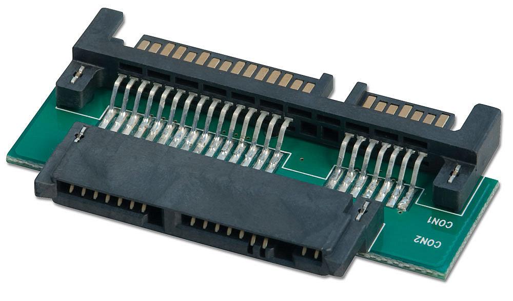 Micro SATA an SATA Adapter mit 3,3V Regler für Micro SATA Device