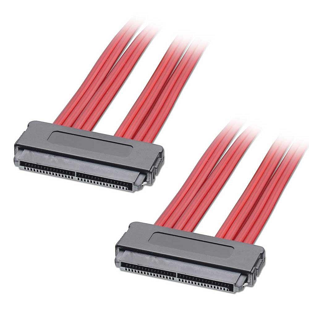 Internes SATA & SAS Kabel SFF-8484 an SFF-8484, Sideband, 1m