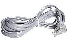 RJ-10 4/4 Kabel Stecker/Stecker 2m