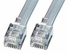 RJ-12 Kabel Stecker/Stecker 50m