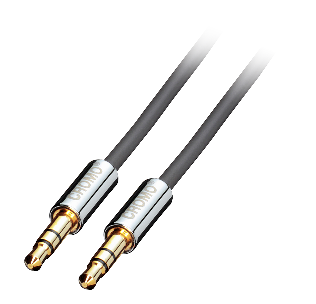 CROMO Audiokabel M/M 1m