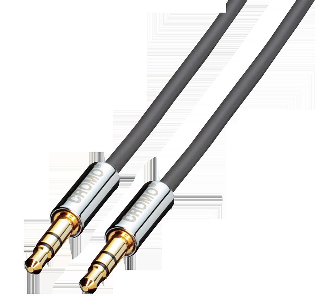 CROMO Audiokabel M/M 3m