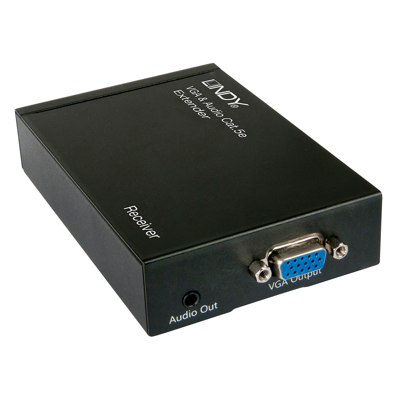 VGA & Audio Cat.5e Extender 300m - Receiver