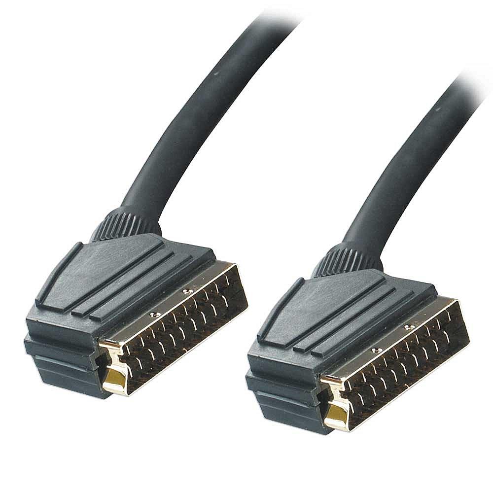 Multi-Coax SCART-Kabel, Stecker/Stecker, 1m