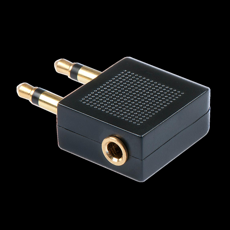 Stereo Audio-Adapter, 2x 3.5mm Klinkenstecker an 3.5mm Klinkenbuchse