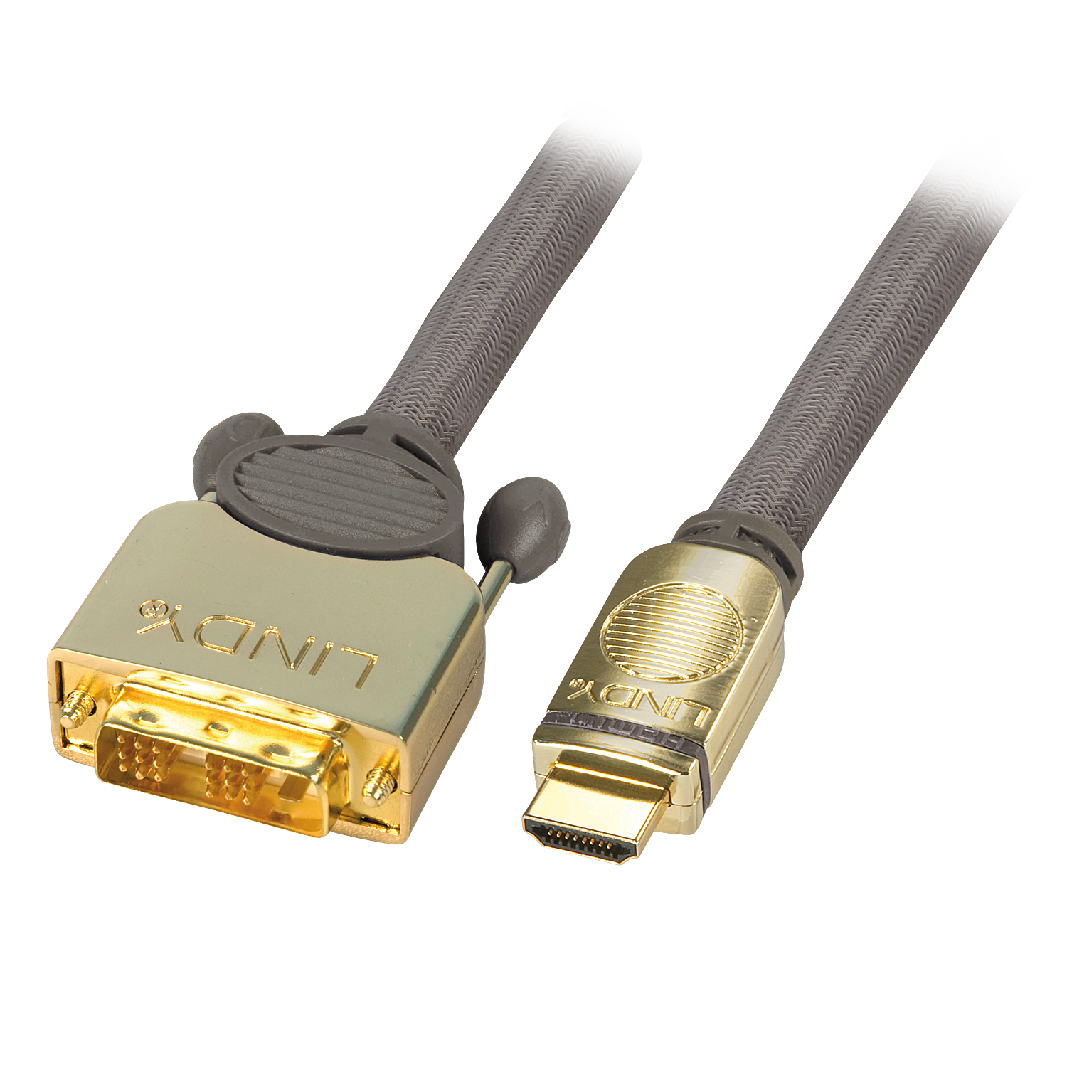 GOLD DVI-D / HDMI Kabel 10m