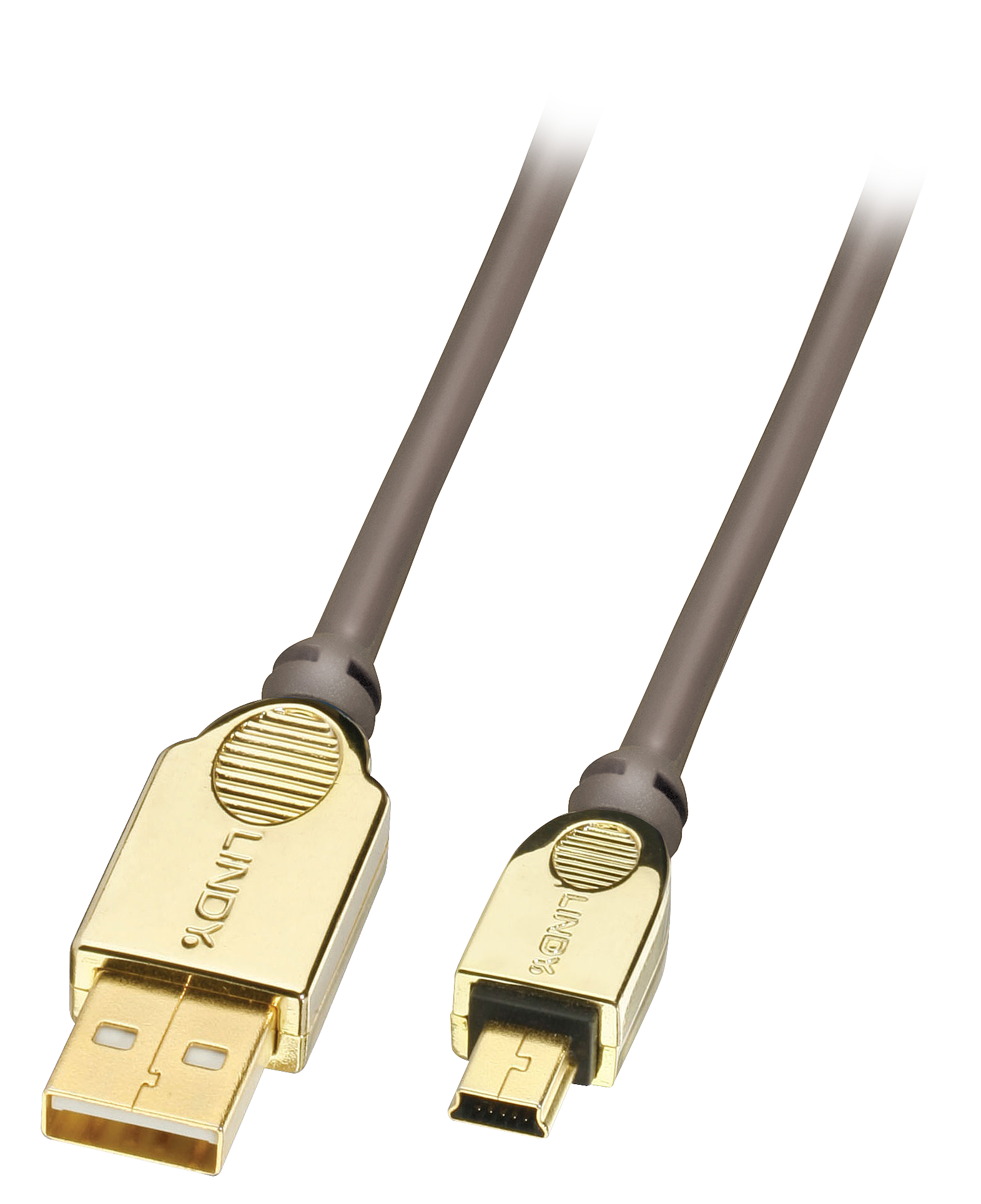 GOLD USB 2.0 Kabel A/Mini-B 1m