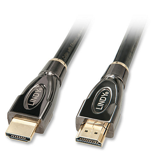 High-Speed HDMI�-Kabel Silver mit Ethernet 3m