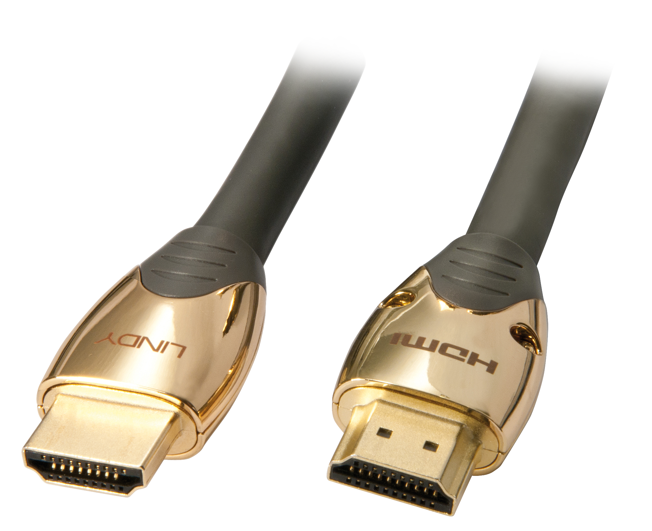 GOLD High Speed HDMI Kabel mit Ethernet 2m