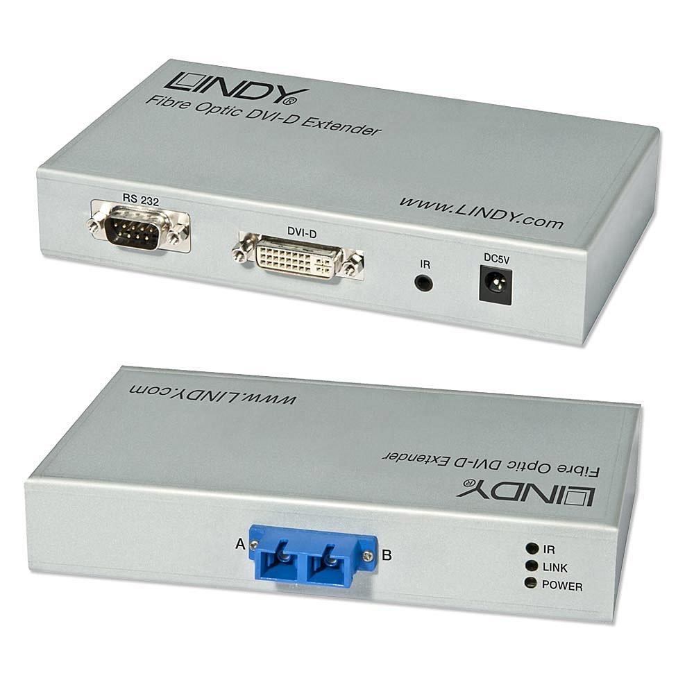 DVI-D Extender Fiber / LWL 300m