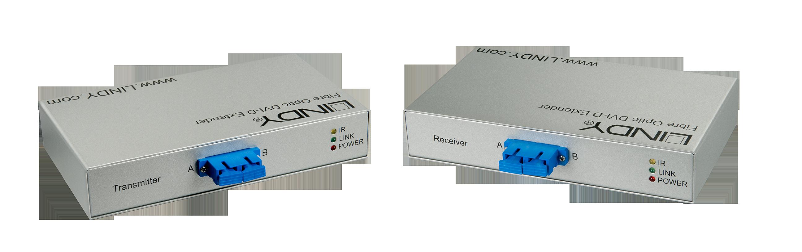 DVI-D Extender Fiber / LWL Single Link 5000m