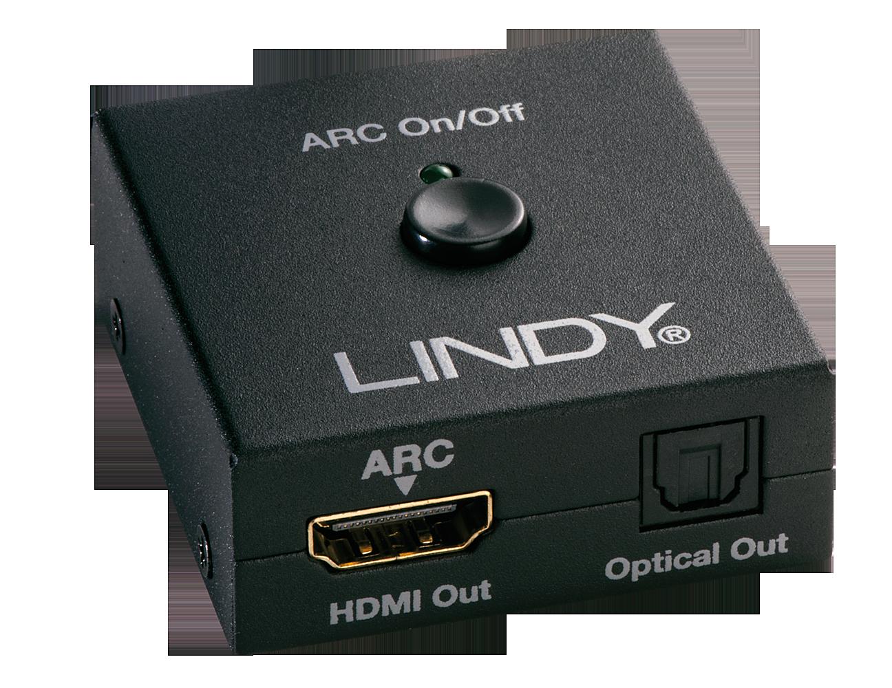 HDMI 4K Audio Extractor mit TosLink Ausgabe