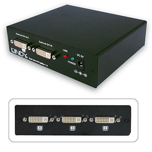 DVI Splitter Dual Link 1:4