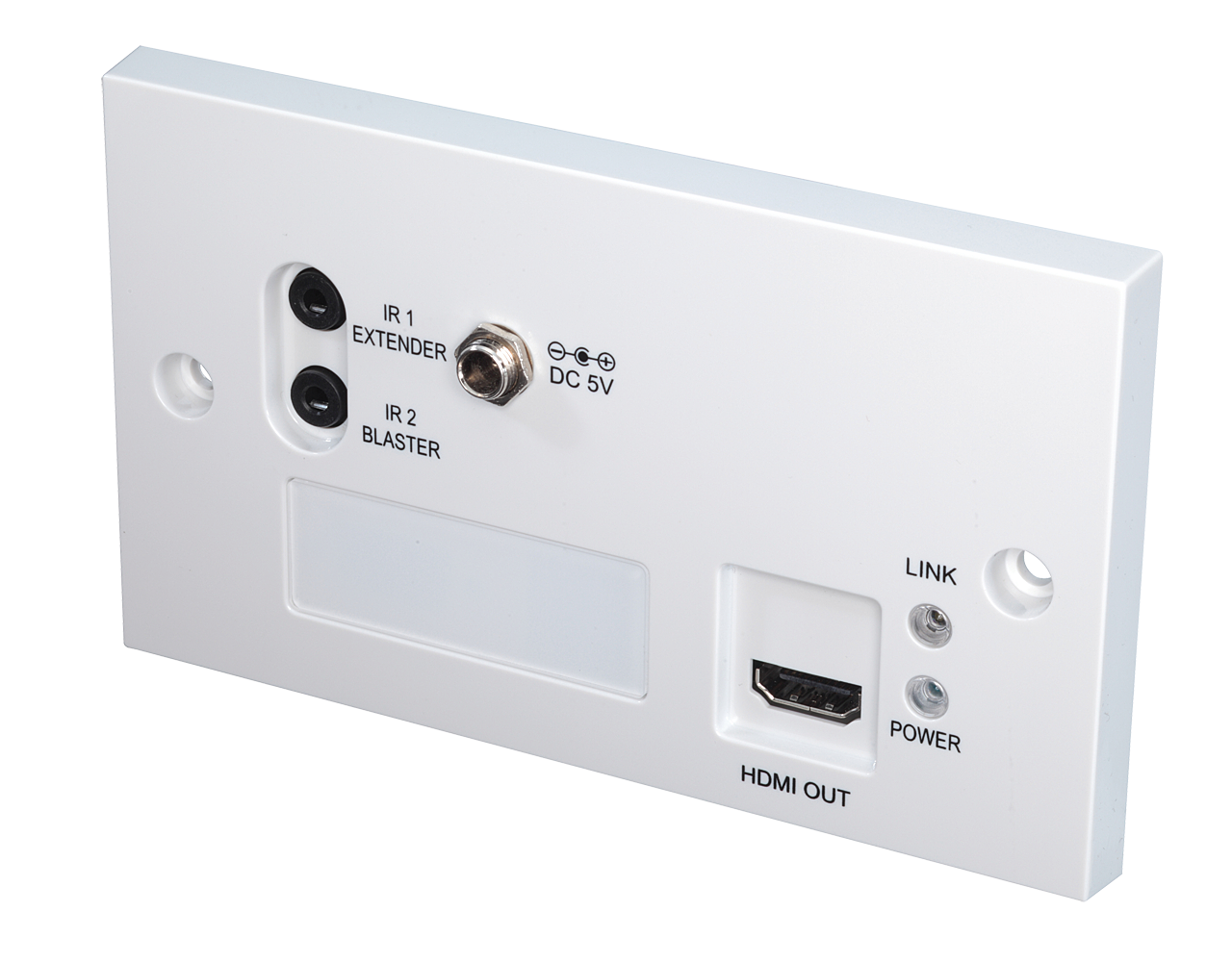 HDMI Receiver Wanddosenmodul C6-70m mit HDBaseT Technologie