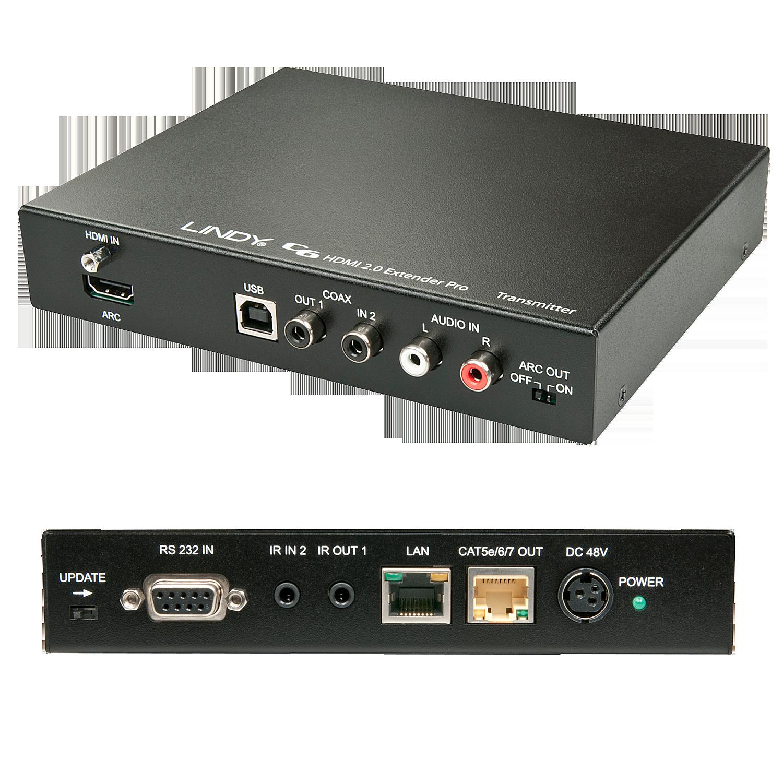 100m C6 HDBaseT 2.0 KVM Extender Pro - Transmitter