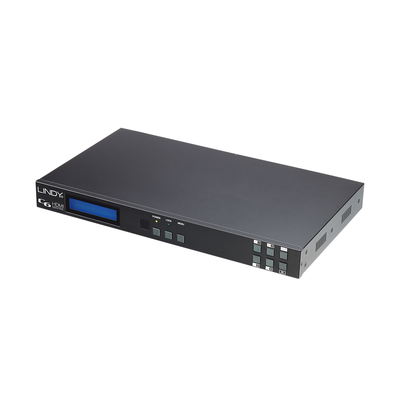 100m C6 HDMI 4x4 Matrix HDBaseT Extender Pro PoH