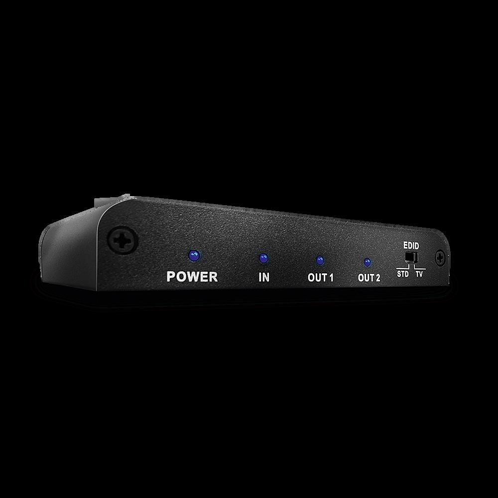 HDMI 2.0 4K UHD Splitter 2 Port, 2160p60 mit 4K Videounterst�tzung